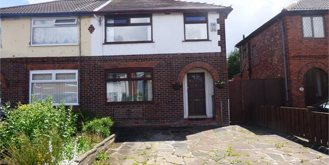 Asking Price £170,000, 3 Bedroom Semi Detached House For Sale in Bredbury, SK6