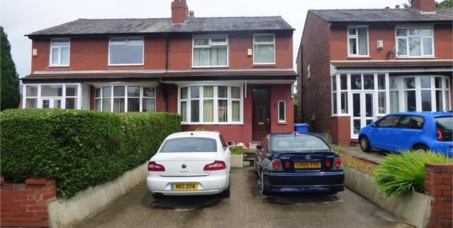 Offers Over £190,000, 3 Bedroom Semi Detached House For Sale in Stockport, SK3