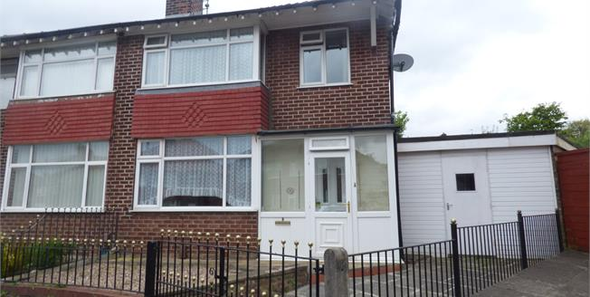 Guide Price £140,000, 3 Bedroom Semi Detached House For Sale in Stockport, SK5