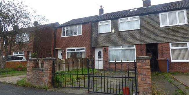 Guide Price £140,000, 3 Bedroom Terraced House For Sale in Stockport, SK4