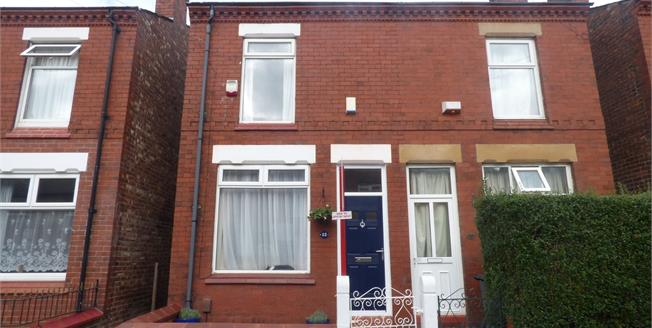 Guide Price £120,000, 2 Bedroom Semi Detached House For Sale in Stockport, SK3
