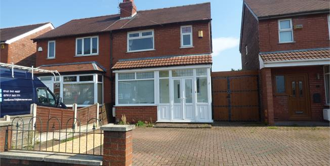 Asking Price £140,000, 3 Bedroom Semi Detached House For Sale in Stockport, SK3