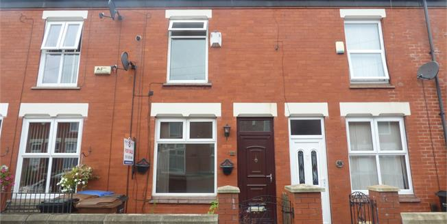 Offers Over £110,000, 2 Bedroom Terraced House For Sale in Stockport, SK3