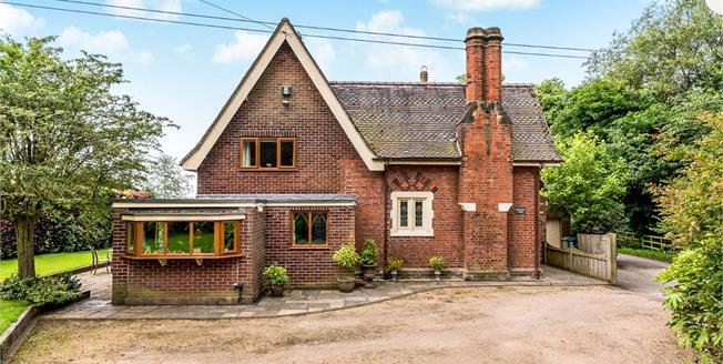 Offers in the region of £450,000, 4 Bedroom Detached House For Sale in Brancote, ST18