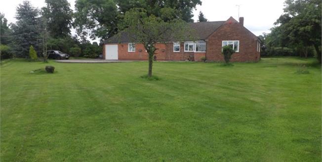£350,000, 3 Bedroom Detached Bungalow For Sale in Haughton, ST18