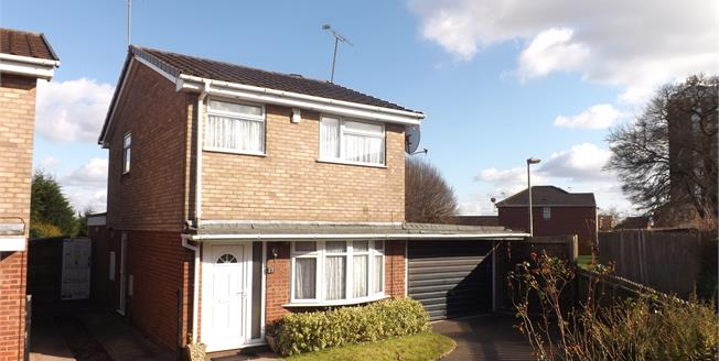 Offers Over £170,000, 3 Bedroom Detached House For Sale in Stafford, ST17