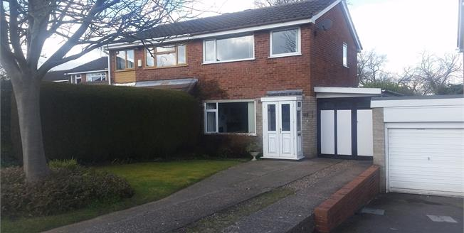 Offers in the region of £135,000, 3 Bedroom Semi Detached House For Sale in Stafford, ST17