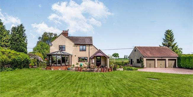 Offers in the region of £550,000, 4 Bedroom Detached House For Sale in Stafford, ST18