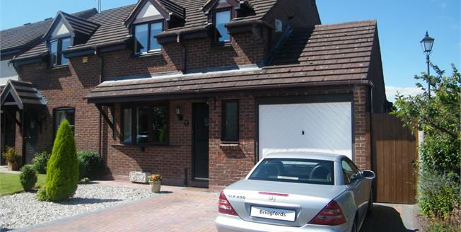 Offers in the region of £210,000, 3 Bedroom Semi Detached House For Sale in Weston, ST18