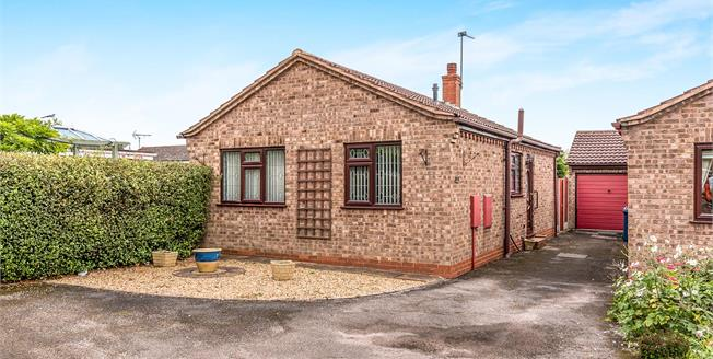 Offers in the region of £160,000, 2 Bedroom Detached Bungalow For Sale in Stafford, ST16