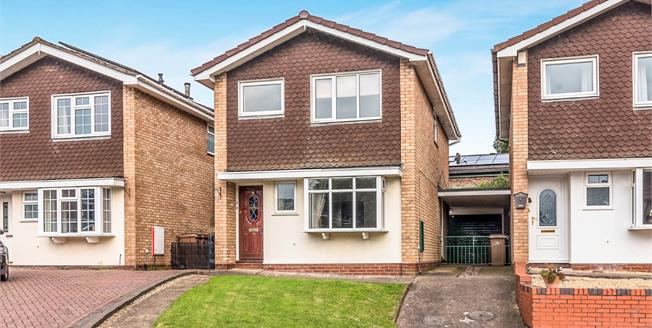 Offers in the region of £190,000, 4 Bedroom Detached House For Sale in Stafford, ST17