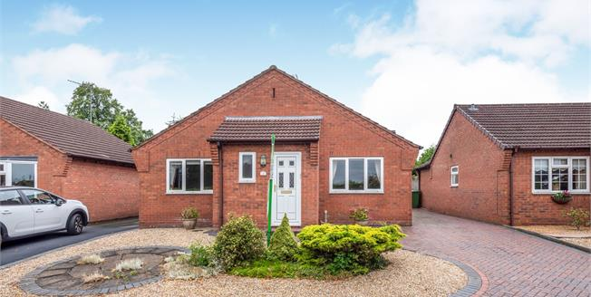 Offers in the region of £240,000, 2 Bedroom Detached Bungalow For Sale in Stafford, ST17