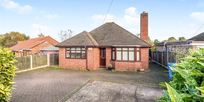 Offers in the region of £325,000, 3 Bedroom Detached Bungalow For Sale in Penkridge, ST19