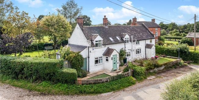 Offers in the region of £345,000, 3 Bedroom Semi Detached Cottage For Sale in Enson, ST18
