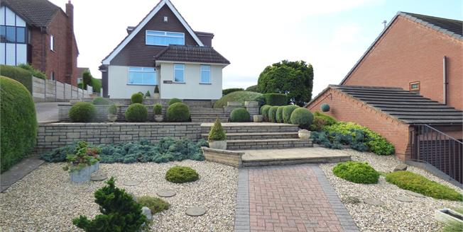 Asking Price £265,000, 3 Bedroom Detached Bungalow For Sale in Stafford, ST17
