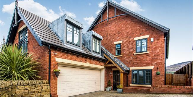 Offers Over £530,000, 4 Bedroom Detached House For Sale in Stalybridge, SK15