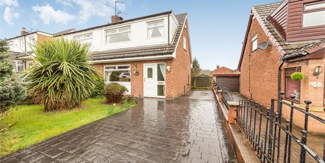 Offers Over £165,000, 3 Bedroom Semi Detached House For Sale in Stalybridge, SK15