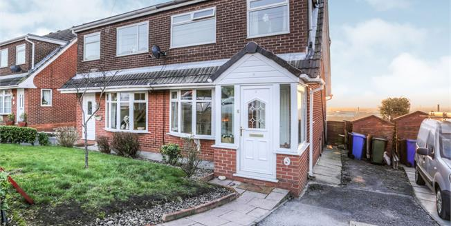 Asking Price £170,000, 3 Bedroom Semi Detached House For Sale in Stalybridge, SK15