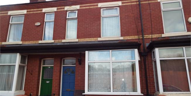 Offers Over £110,000, 2 Bedroom Terraced House For Sale in Salford, M6