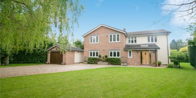 Asking Price £920,000, 4 Bedroom Detached House For Sale in Wilmslow, SK9