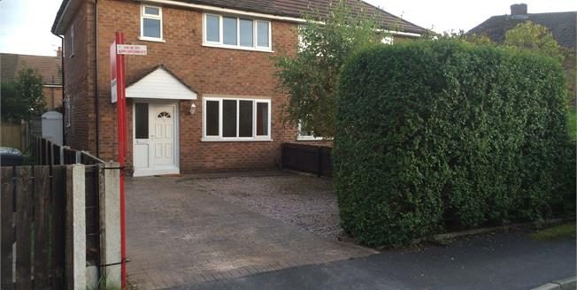 Asking Price £200,000, 3 Bedroom Semi Detached House For Sale in Wilmslow, SK9