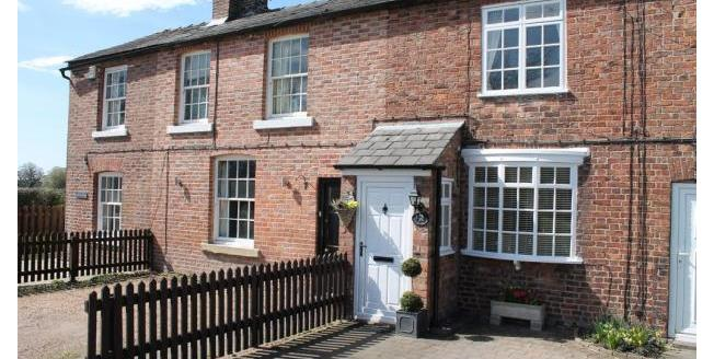 Offers Over £240,000, 2 Bedroom Terraced Cottage For Sale in Wilmslow, SK9