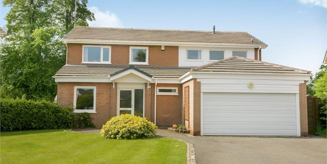Guide Price £625,000, 4 Bedroom Detached House For Sale in Wilmslow, SK9