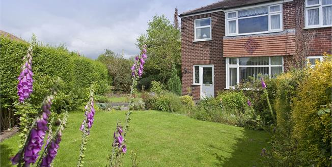 Guide Price £375,000, 3 Bedroom Semi Detached House For Sale in Wilmslow, SK9
