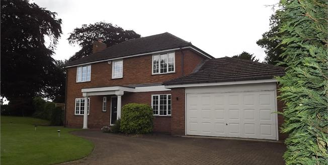 Guide Price £660,000, 4 Bedroom Detached House For Sale in Wilmslow, SK9