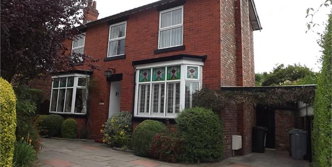 Guide Price £575,000, 4 Bedroom Detached House For Sale in Wilmslow, SK9