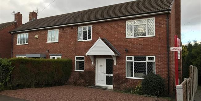 Guide Price £275,000, 2 Bedroom Semi Detached House For Sale in Wilmslow, SK9