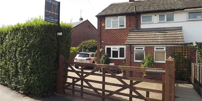 Offers Over £260,000, 4 Bedroom Semi Detached House For Sale in Wilmslow, SK9