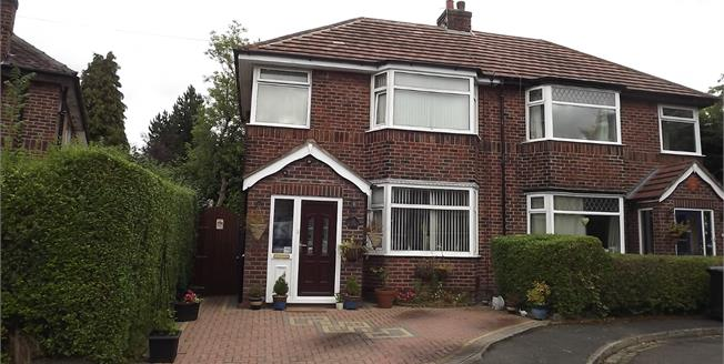 Offers in the region of £300,000, 3 Bedroom Semi Detached House For Sale in Wilmslow, SK9