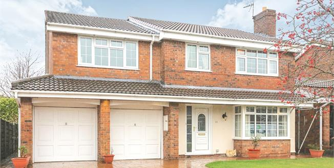 Guide Price £530,000, 5 Bedroom Detached House For Sale in Wilmslow, SK9