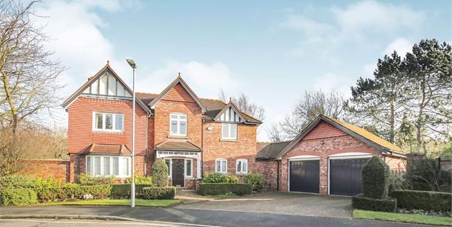 Offers in the region of £675,000, 4 Bedroom Detached House For Sale in Wilmslow, SK9