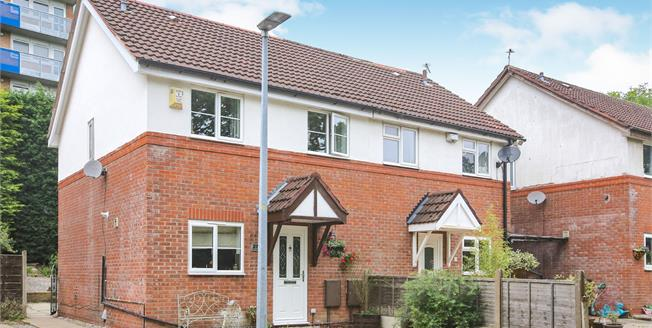 Guide Price £180,000, 2 Bedroom Semi Detached House For Sale in Handforth, SK9