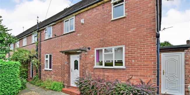 Guide Price £230,000, 2 Bedroom End of Terrace House For Sale in Wilmslow, SK9