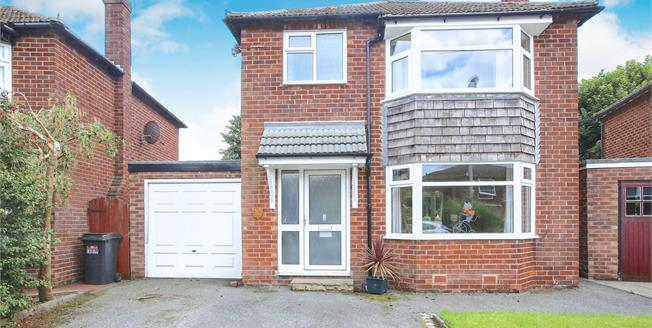 Guide Price £449,950, 3 Bedroom Detached House For Sale in Wilmslow, SK9