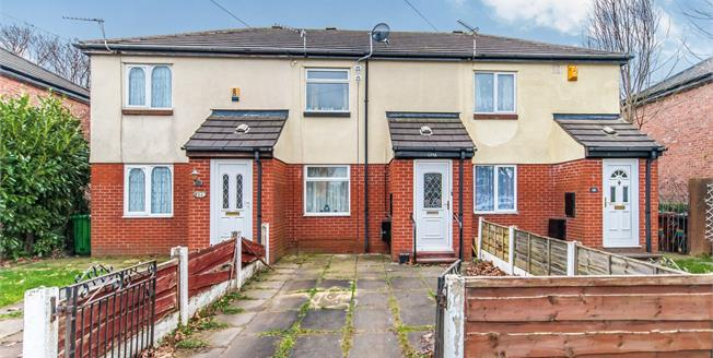 Asking Price £115,000, 2 Bedroom Terraced House For Sale in Manchester, M19