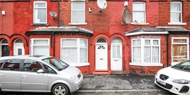 Guide Price £125,000, 2 Bedroom Terraced House For Sale in Manchester, M14
