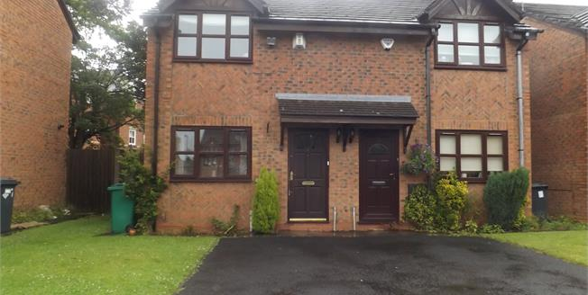 Asking Price £150,000, 2 Bedroom Semi Detached House For Sale in Manchester, M14
