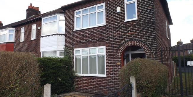 Offers Over £190,000, 3 Bedroom Semi Detached House For Sale in Manchester, M19
