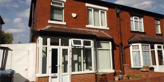 Asking Price £180,000, 3 Bedroom Semi Detached House For Sale in Manchester, M19