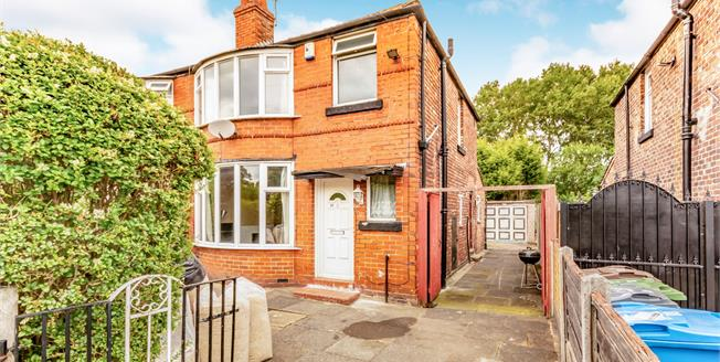 Offers in the region of £245,000, 3 Bedroom Semi Detached House For Sale in Manchester, M14