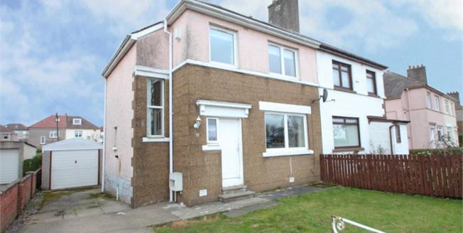 Offers Over £150,000, 3 Bedroom Semi Detached House For Sale in Baillieston, G69