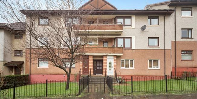 Fixed Price £59,995, 2 Bedroom Upper Floor Flat For Sale in Glasgow, G33