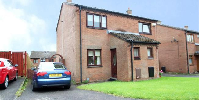 Offers Over £110,000, 2 Bedroom Semi Detached House For Sale in Baillieston, G69