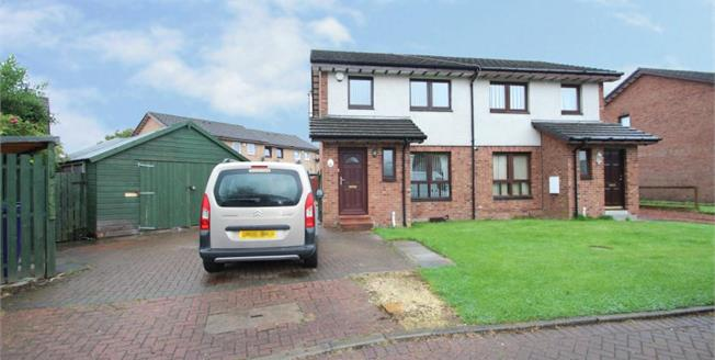 Offers Over £112,500, 3 Bedroom Semi Detached House For Sale in Glasgow, G34