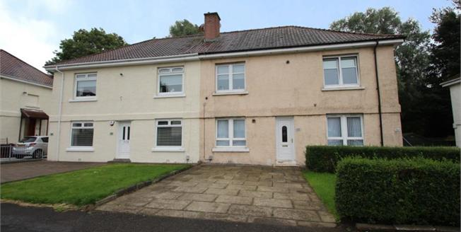 Offers Over £88,000, 2 Bedroom Ground Floor Flat For Sale in Glasgow, G32