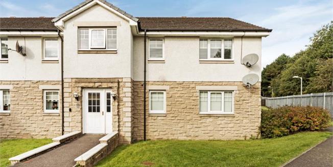 Fixed Price £98,000, 2 Bedroom Upper Floor Flat For Sale in Coatbridge, ML5